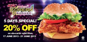 20percent-off-kfc-korean-burger-a-la-carte