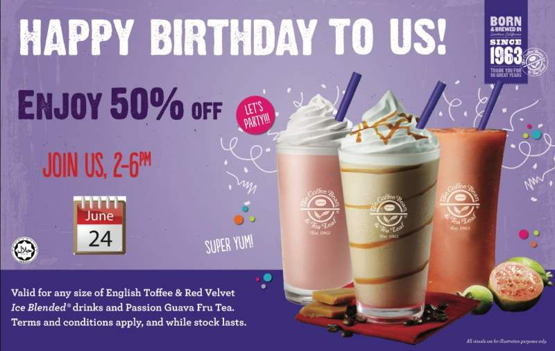 The Coffee Bean Amp Tea Leaf Get 50 Off On Selected Drinks