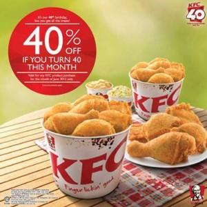 kfc-40percent-discount